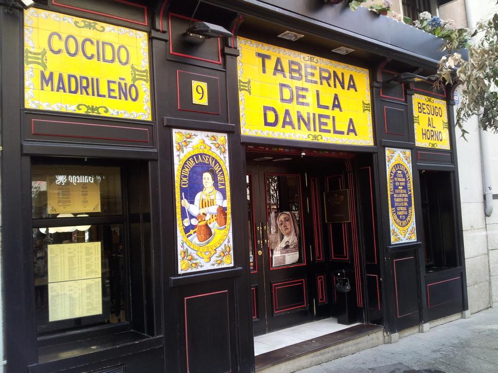 Restaurantes cocido Madrid