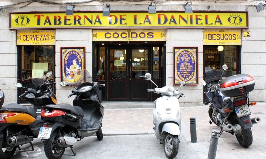Tabernas típicas Madrid