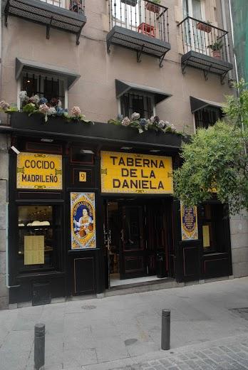 Menú para grupos Madrid